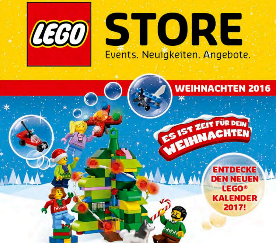 LEGO Store Angebote Weihnachten 2016 | © LEGO Group