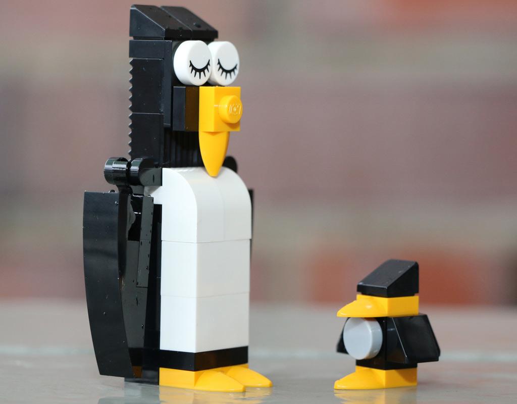 LEGO Pinguine | © Andres Lehmann / zusammengebaut.com