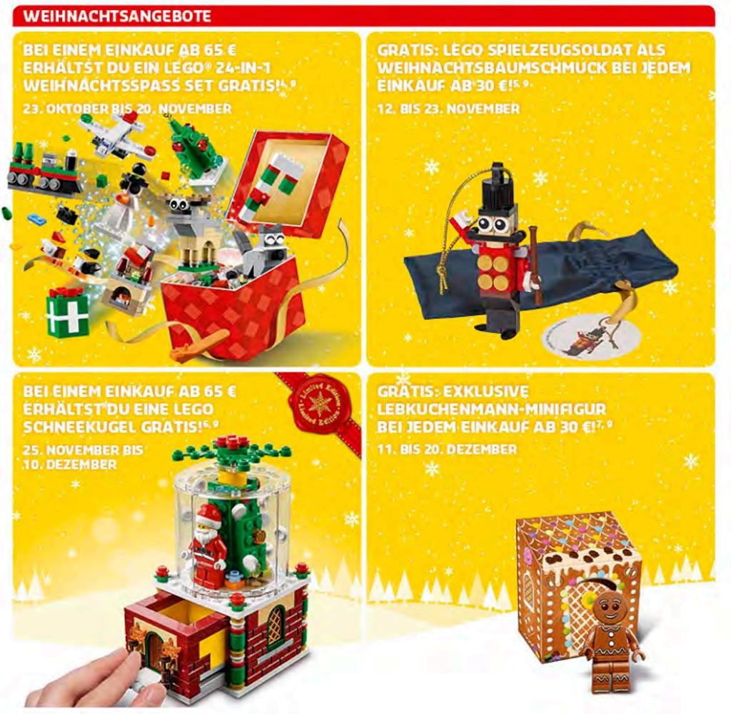 Weihnachtsangebote im LEGO Store | © LEGO Group