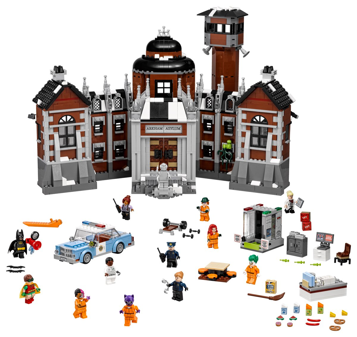 Arkham Asylum | © LEGO Group