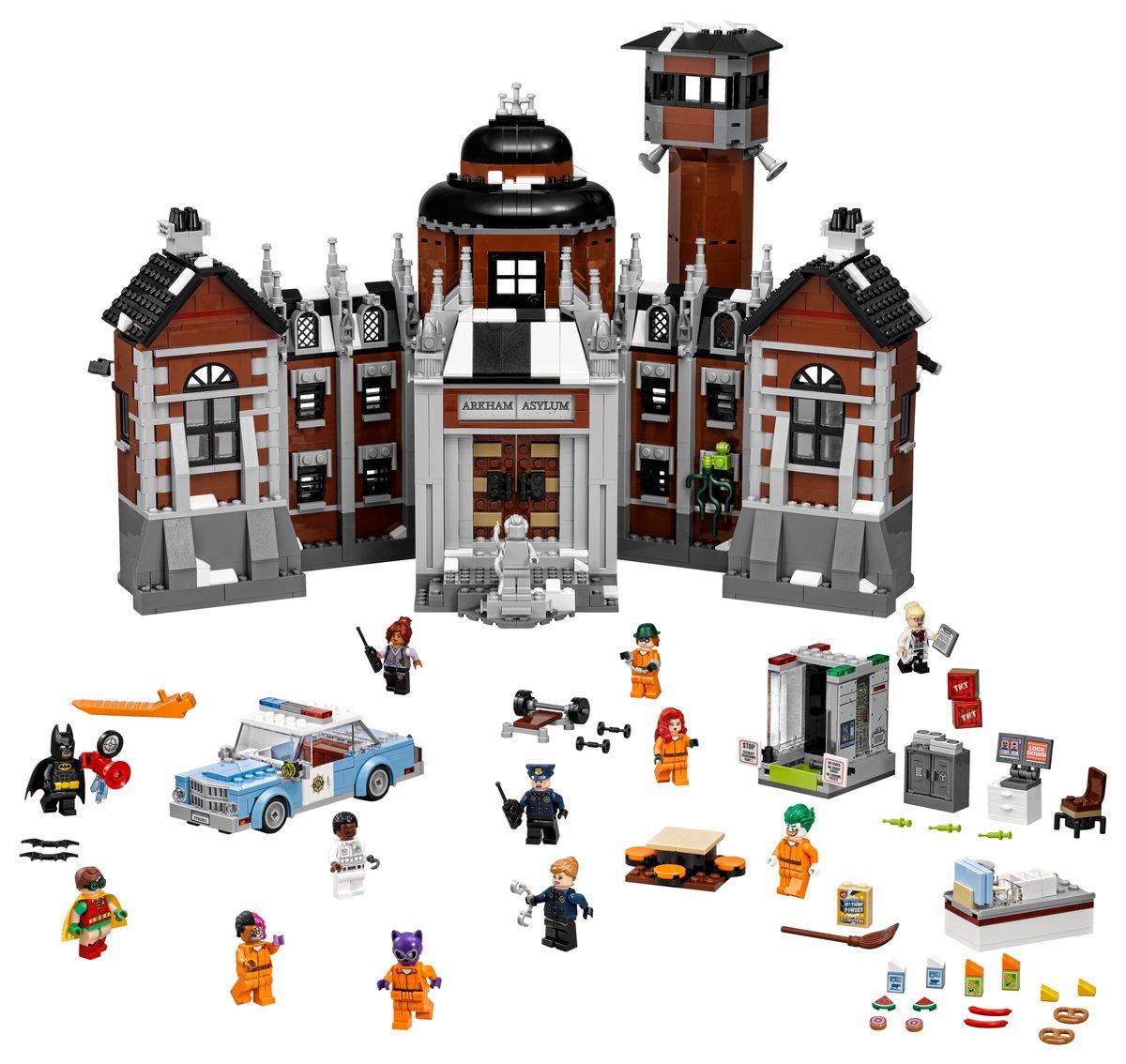 The LEGO Batman Movie Arkham Asylum 70912 | © LEGO Group