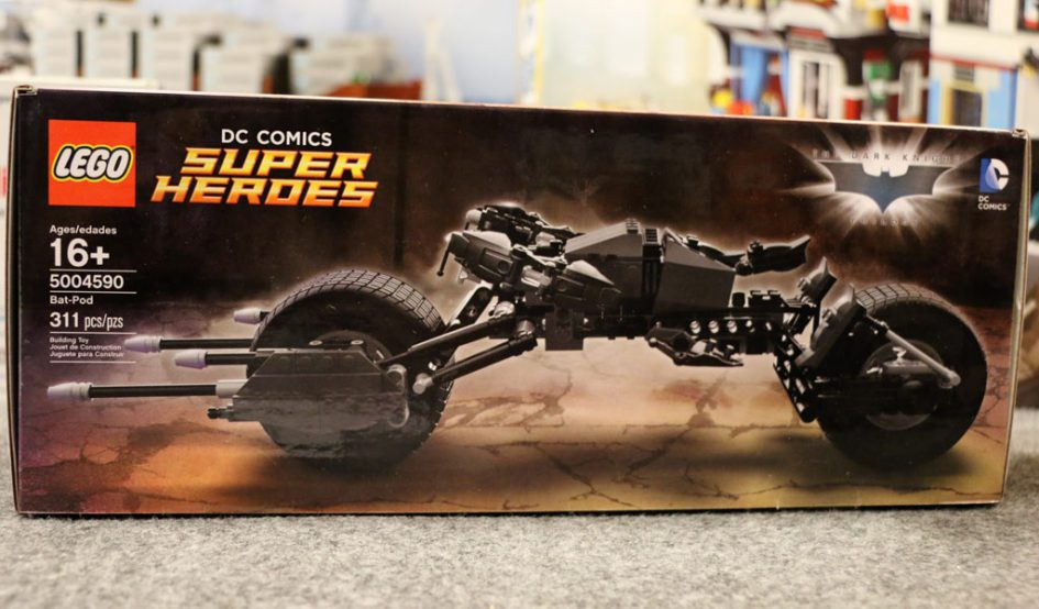 LEGO DC Comics Super Heroes Bat-Pod (5004590)    © Andres Lehmann / zusammengebaut.com