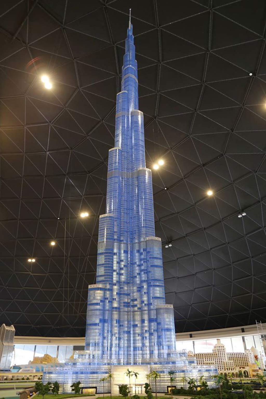 Herausragendes Burj Khalifa | © LEGOLAND Dubai