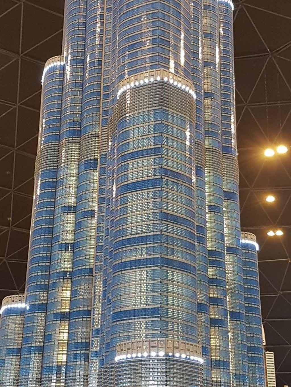 Fassade des Burj Khalifa | © Ronald Innes