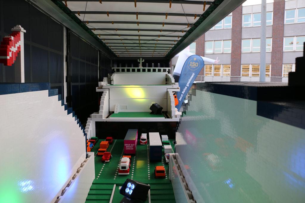 An Bord des größten LEGO-Schiffes der Welt! | © Andres Lehmann / zusammengebaut.com