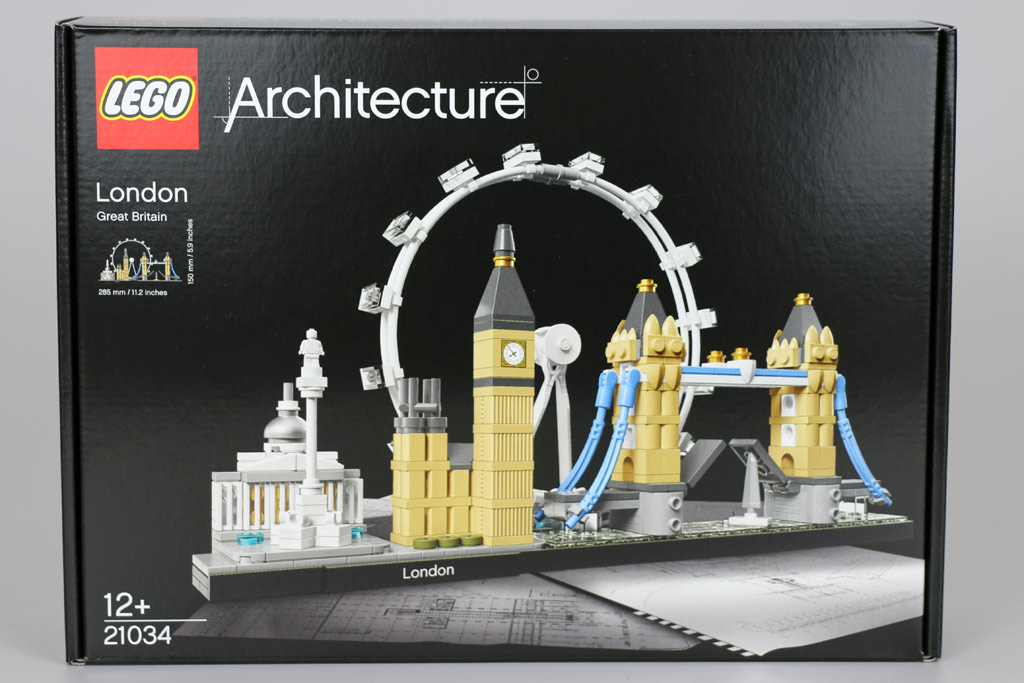 LEGO Architecture London Skyline Set 21034: Box | © Andres Lehmann / zusammengebaut.com
