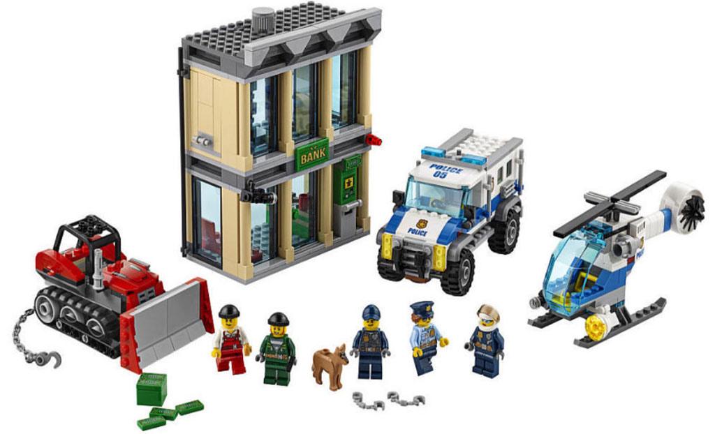 LEGO City Bulldozer Break-In: Es wird mal wieder eingebrochen (60140) | © LEGO Group