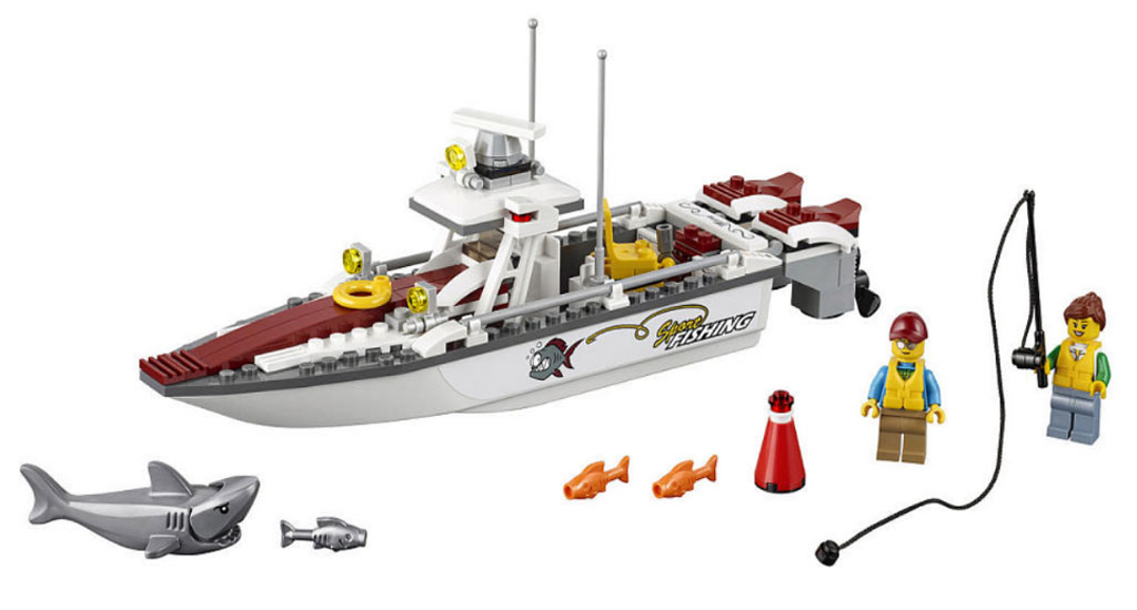 Fishing Boat (60147) | © LEGO Group