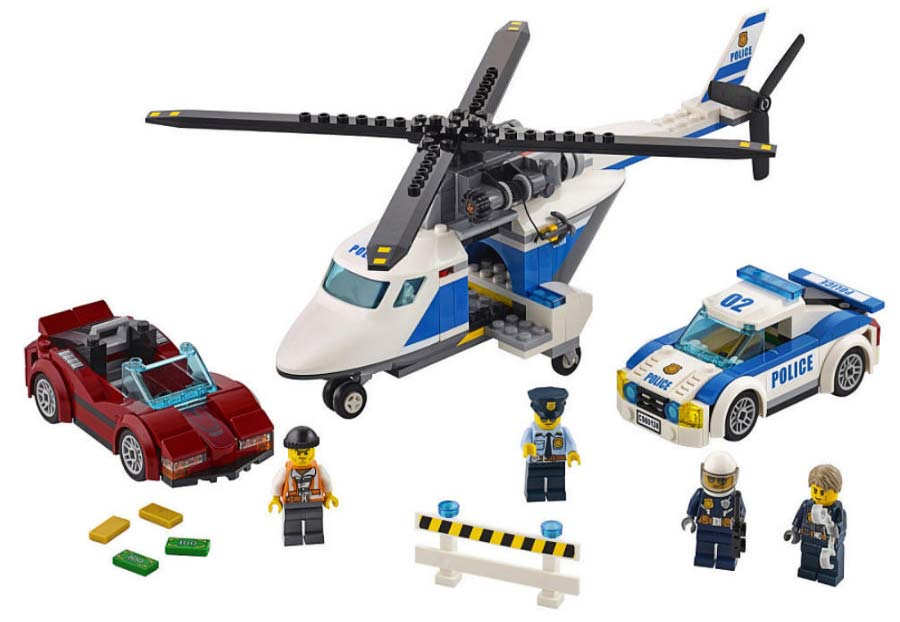 High-Speed Chase (60138): Helikopter muss sein! | © LEGO Group
