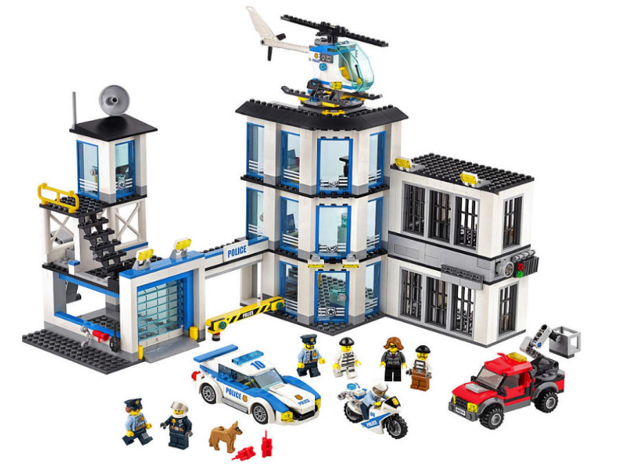 Police Station (60141): Na, da ist doch mal gut was los! | © LEGO Group