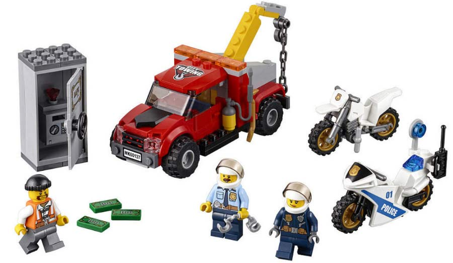 Tow Truck Trouble (60137): Schicker Safe! | © LEGO Group