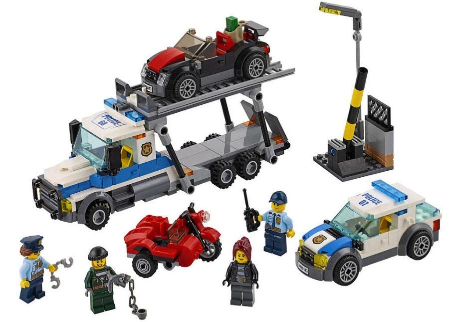 Auto Transport Heist (60143): Raubüberfall | © LEGO Group