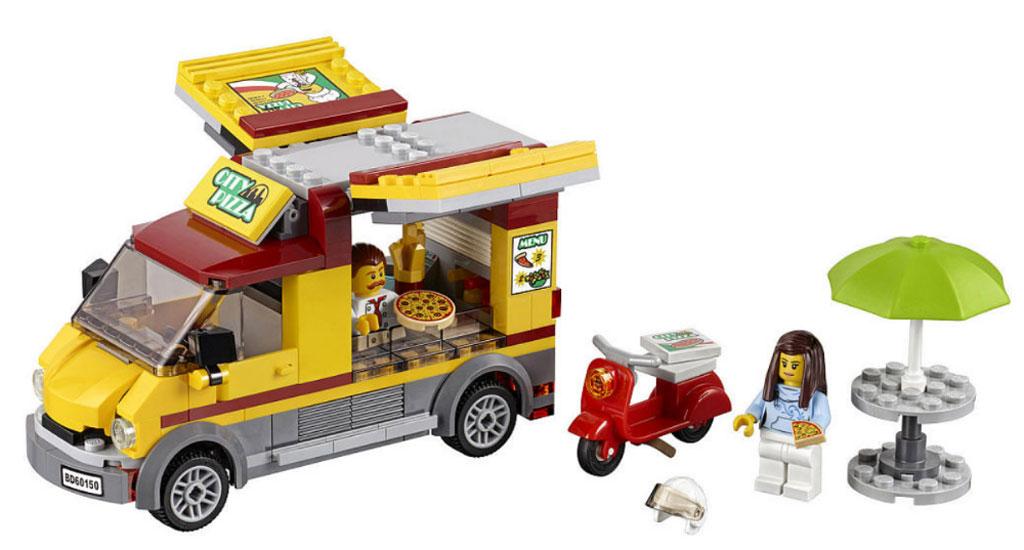 LEGO City Pizza Lieferwagen (60150) | © LEGO Group