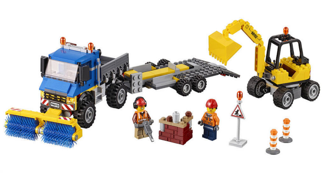 Straßenkehrer und Bagger (60152) | © LEGO Group