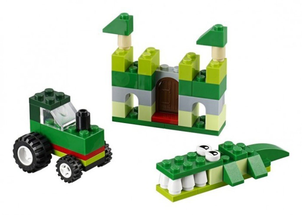 LEGO Classics Green Creative Box 10708 | © LEGO Group