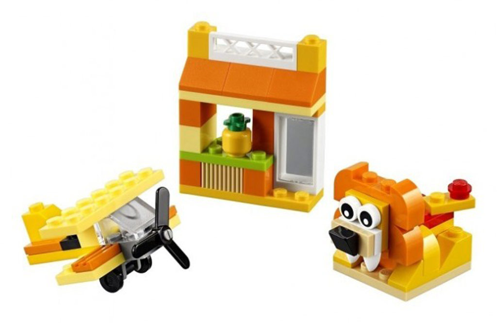 LEGO Classics Yellow Creative Box 10709 | © LEGO Group