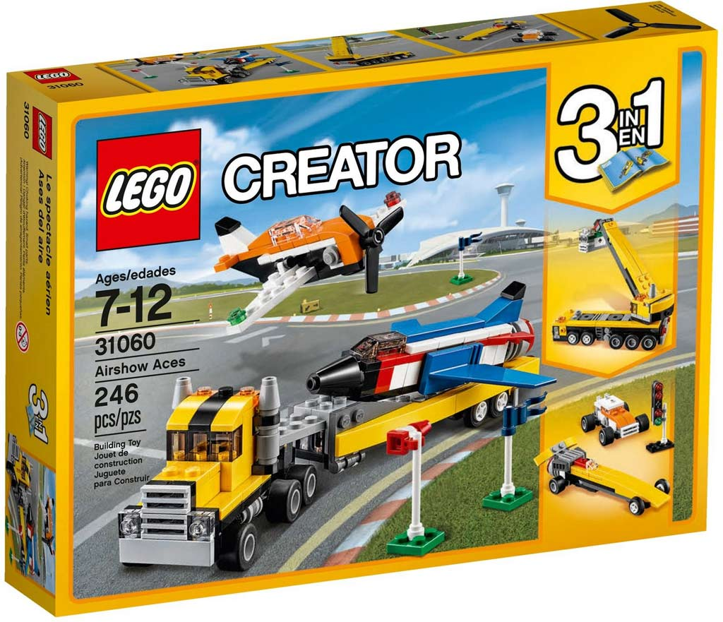 LEGO Creator Airshow Aces 31060 | © LEGO Group