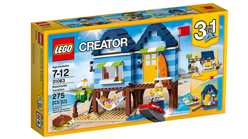 LEGO Creator Beachside Vacation 31063 | © LEGO Group