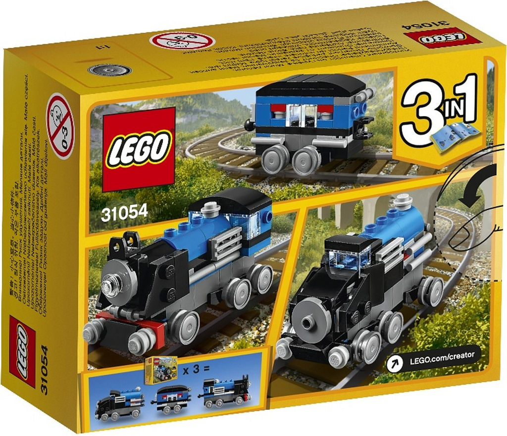 LEGO Creator Blue Express Train 31054: 3 in 1 | © LEGO Group