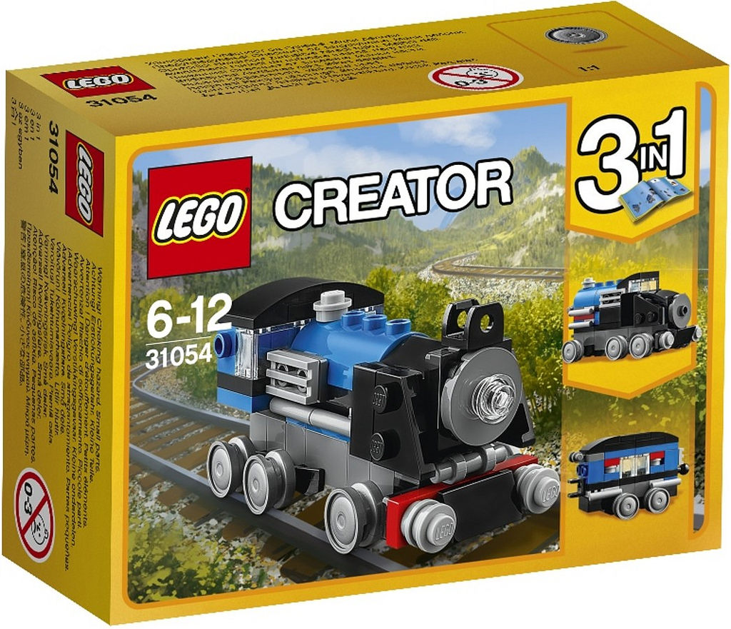 LEGO Creator Blue Express Train 31054: Box | © LEGO Group