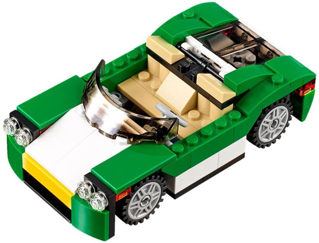 LEGO Creator Green Convertible 31056 | © LEGO Group