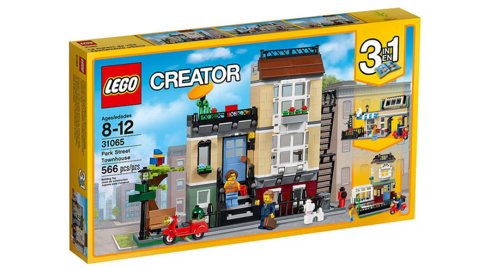LEGO Creator Park Street Townhouse 31065   © LEGO Group