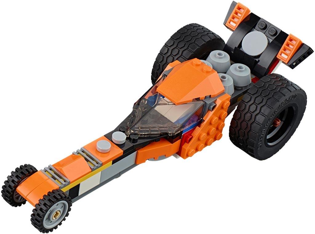 LEGO Creator Sunset Street Bike 31059: 3 | © LEGO Group