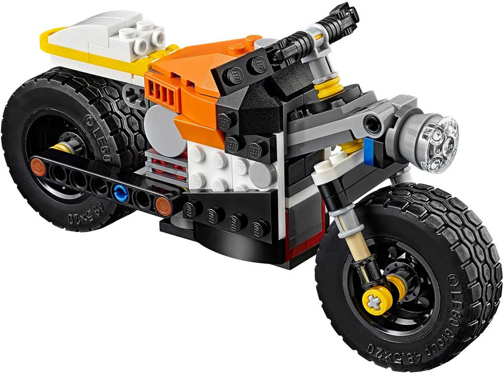 LEGO Creator Sunset Street Bike 31059: 2 | © LEGO Group