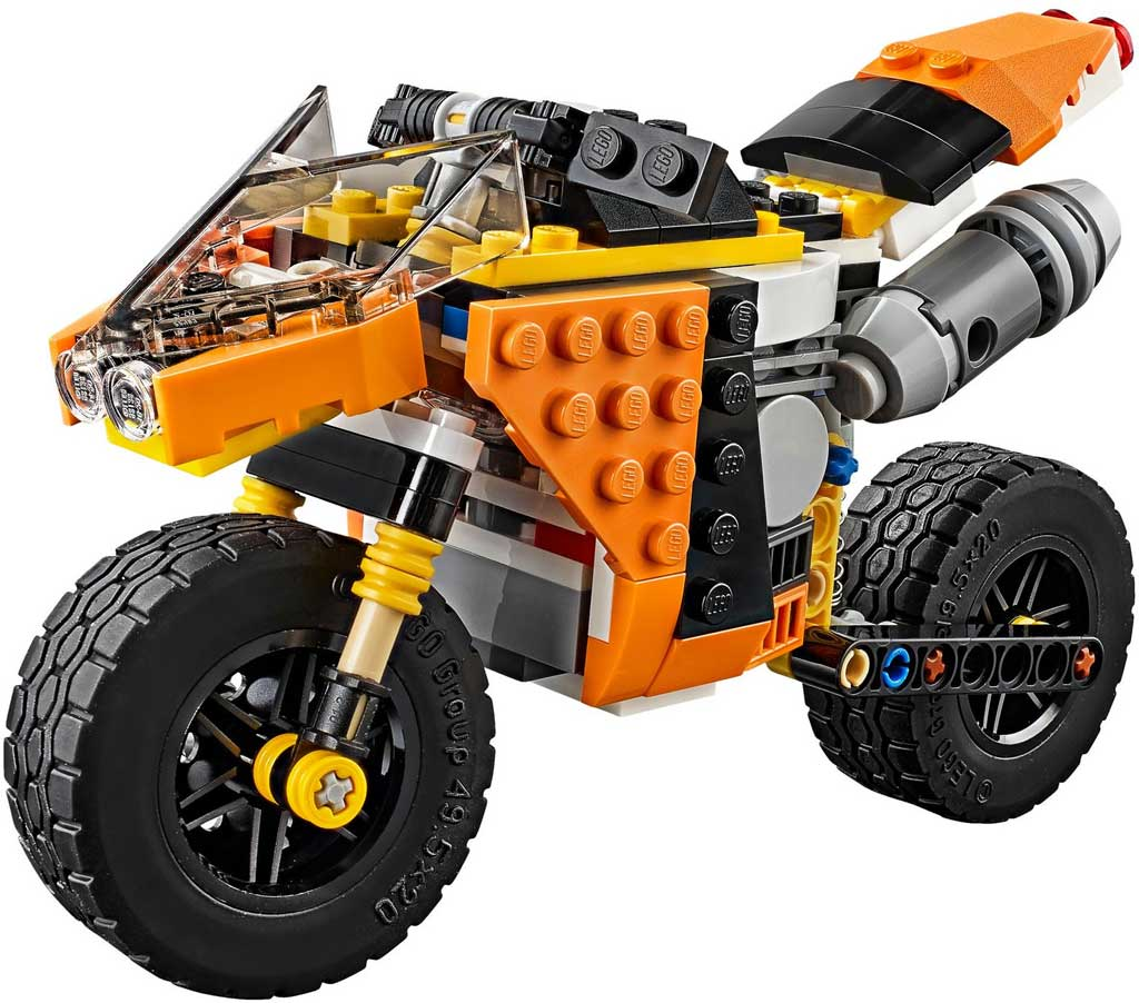 LEGO Creator Sunset Street Bike 31059: 1 | © LEGO Group