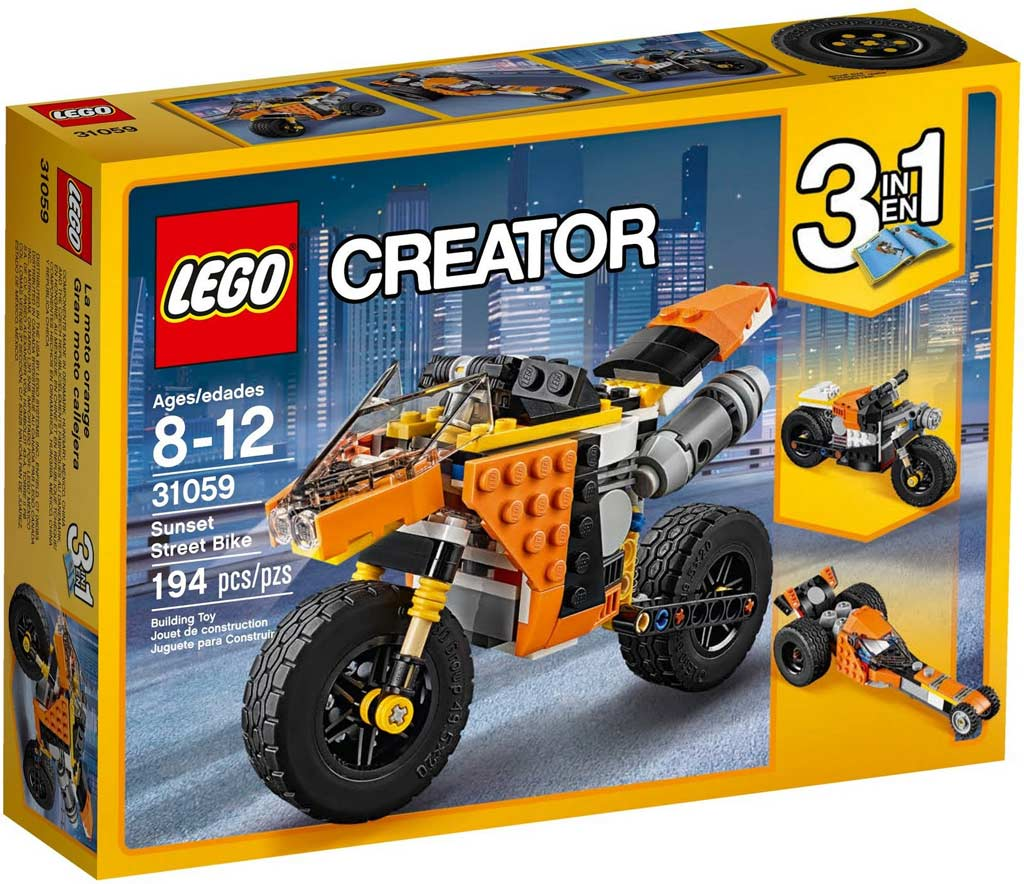 LEGO Creator Sunset Street Bike 31059: Box | © LEGO Group