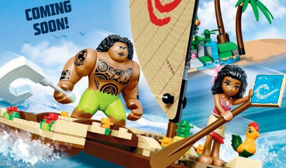 Das Disney Moana beziehungsweise Vaiana Kino-Abenteuer kündigt sich an. | © LEGO Group