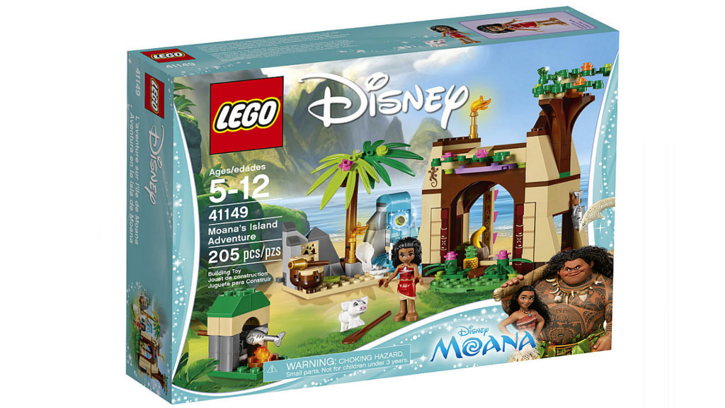LEGO Disney Moana's Island Adventure 41149 | © LEGO Group