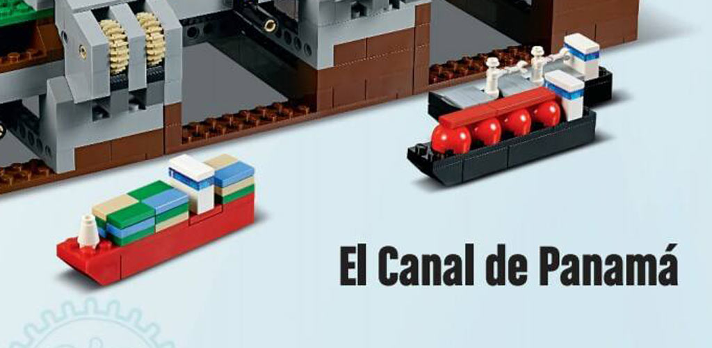 Containerschiffe | © LEGO Group
