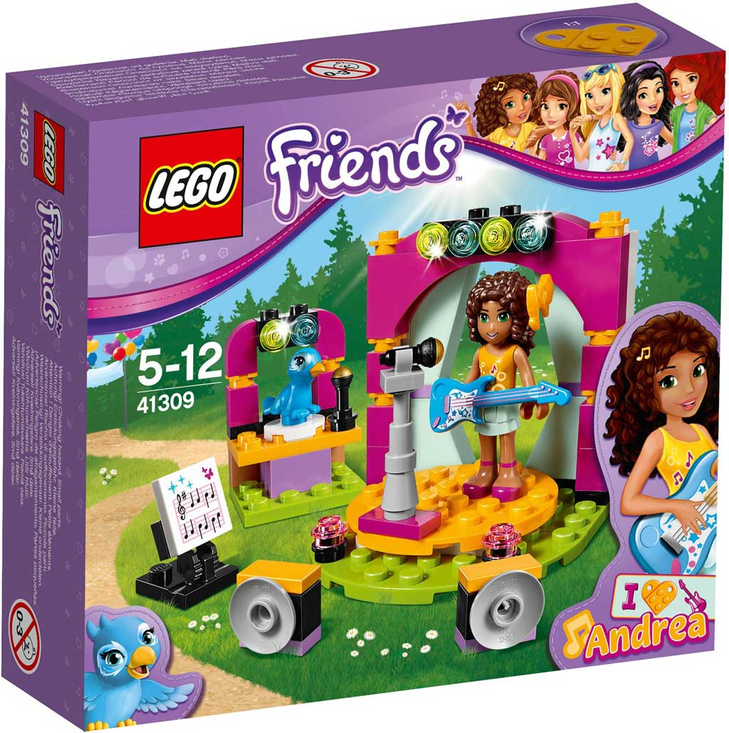 LEGO Friends Andrea's Show 41309 | © LEGO Group