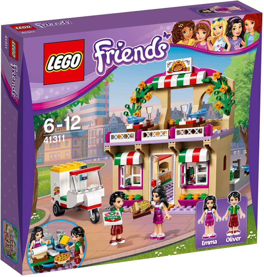 LEGO Friends Heartlake Pizzeria 41311 | © LEGO Group