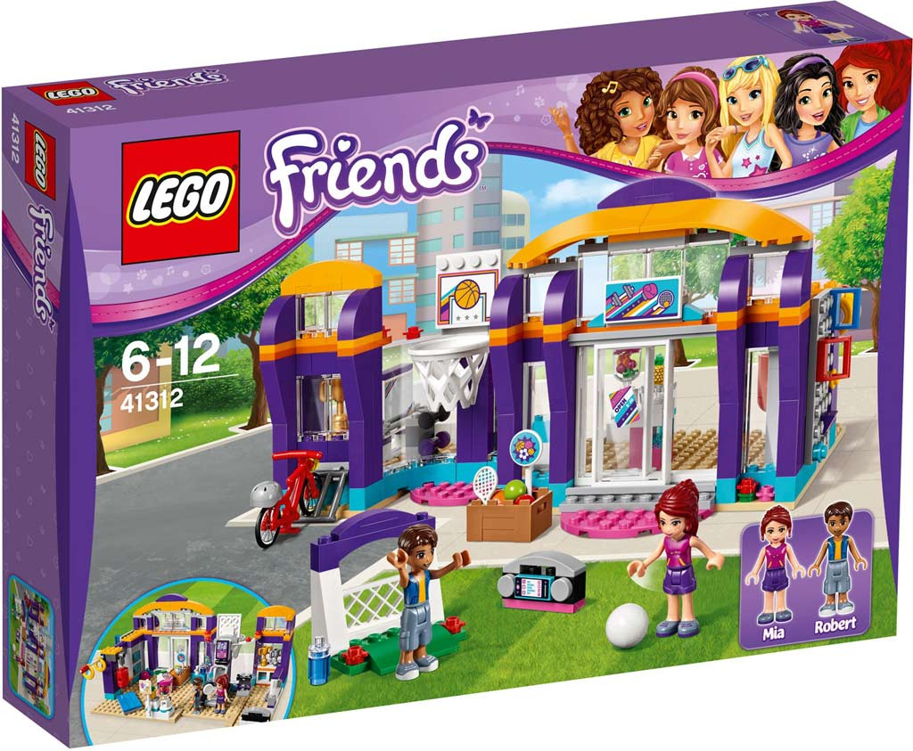 LEGO Friends Heartlake Sports Centre 41312 | © LEGO Group