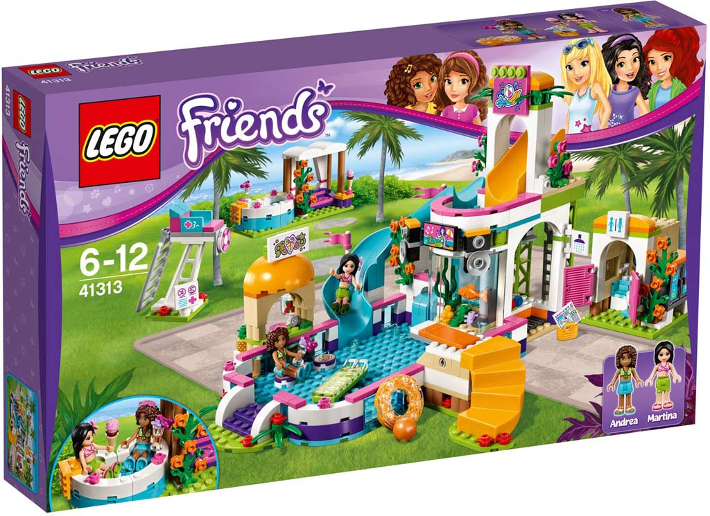 LEGO Friends Heartlake Summer Pool 41313 | © LEGO Group