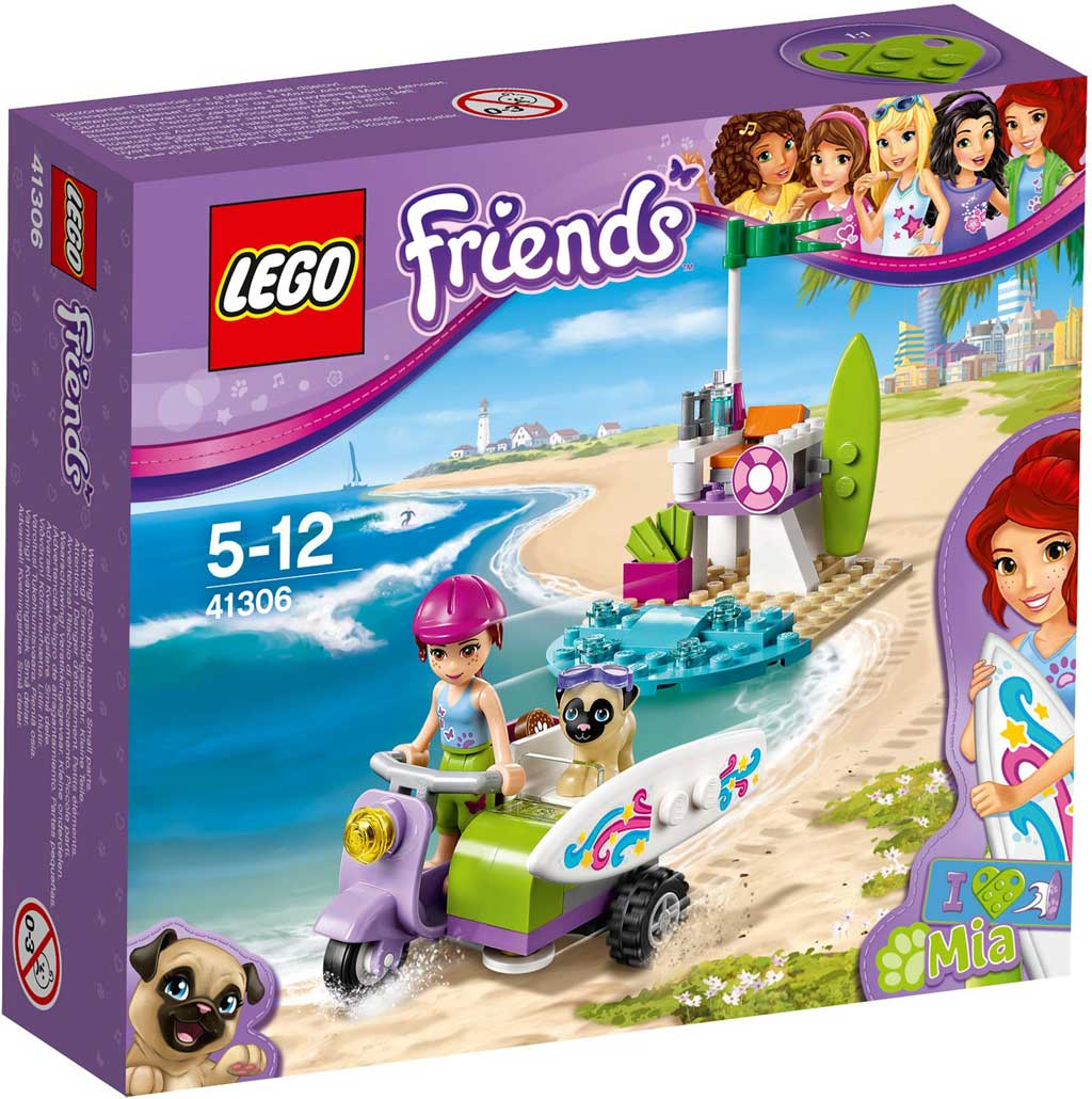 LEGO Friends Mia's Beach Bike 41306 | © LEGO Group
