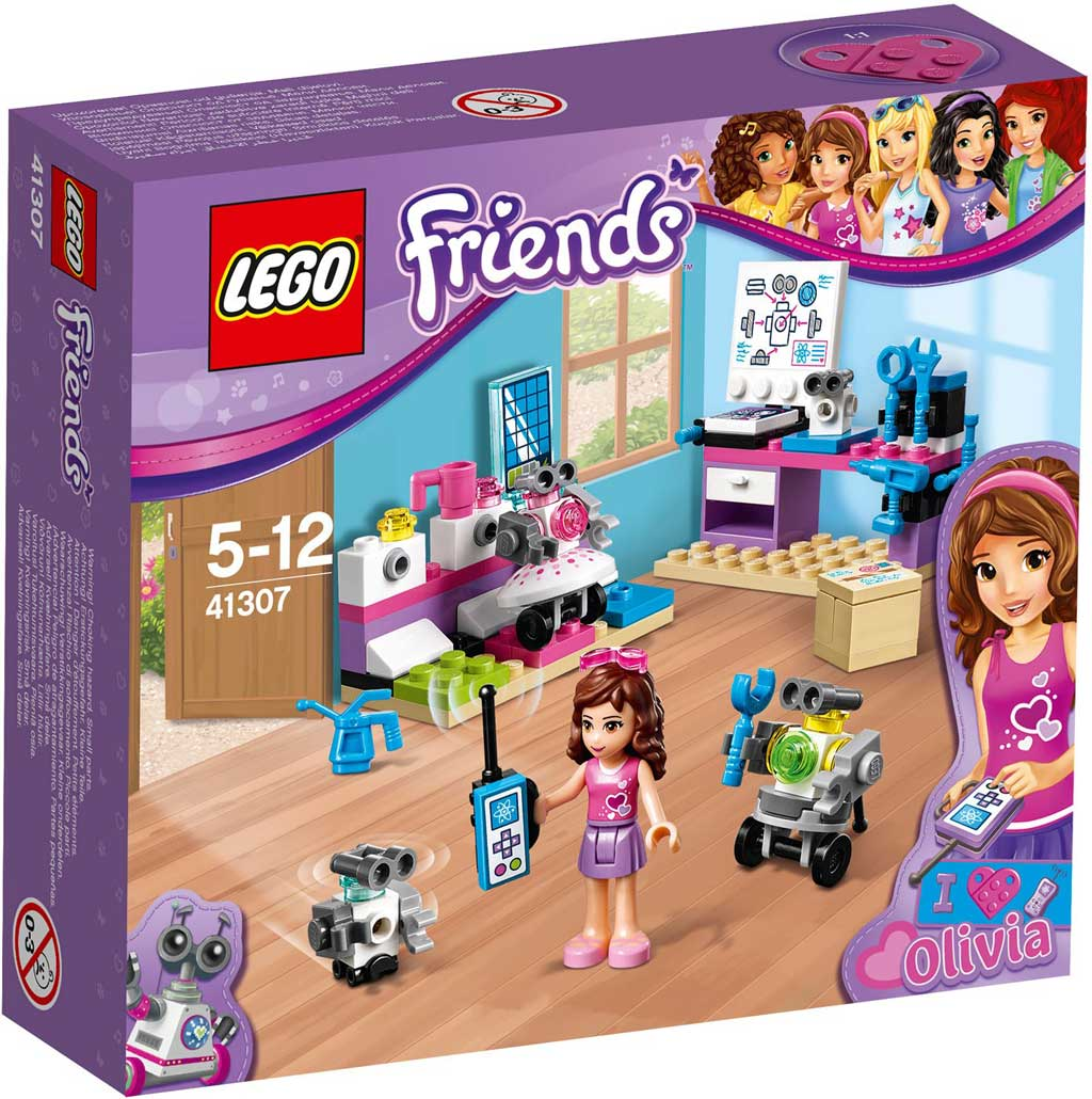 LEGO Friends Olivia's Inventor Lab 41307 | © LEGO Group