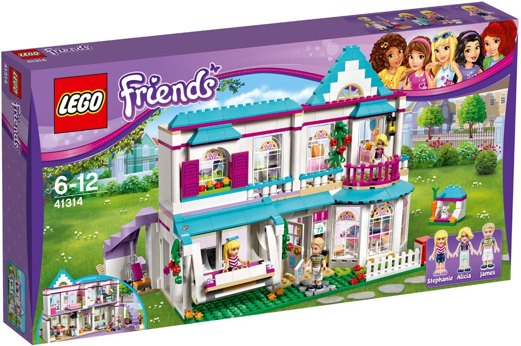 LEGO Friends Stephanie's House 41314 | © LEGO Group