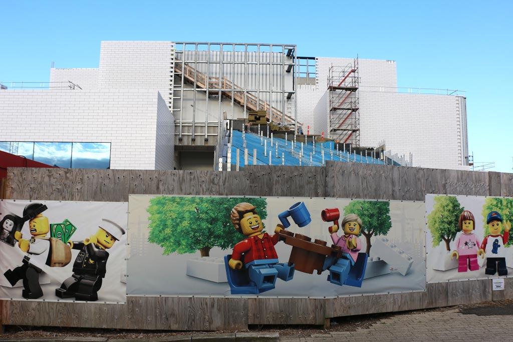 Hier entsteht das LEGO House. | © Andres Lehmann / zusammengebaut.com