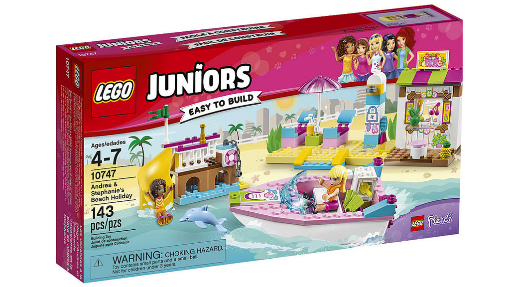 LEGO Juniors Andrea and Stephanie's Beach Holiday 10747 | © LEGO Group