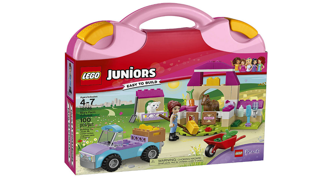 LEGO Juniors Mia's Farm Suitcase 10746 | © LEGO Group
