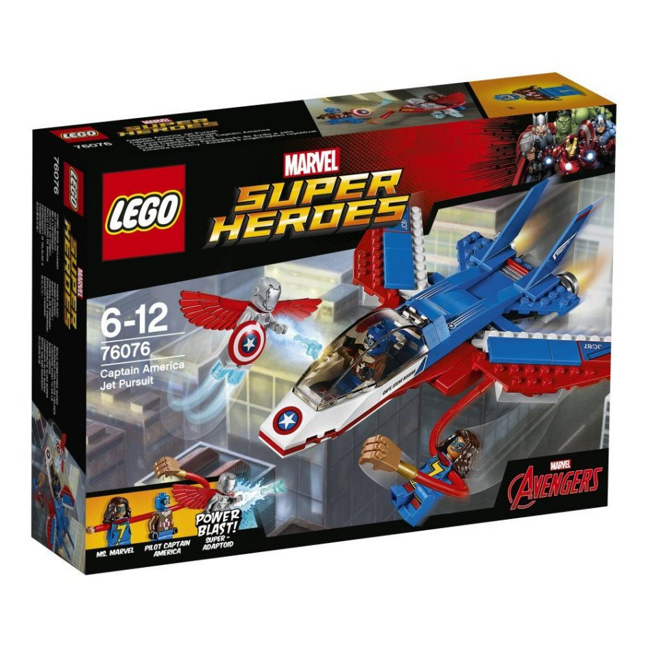 LEGO Marvel Super Heroes Captain America Jet Pursuit 76076 | © LEGO Group