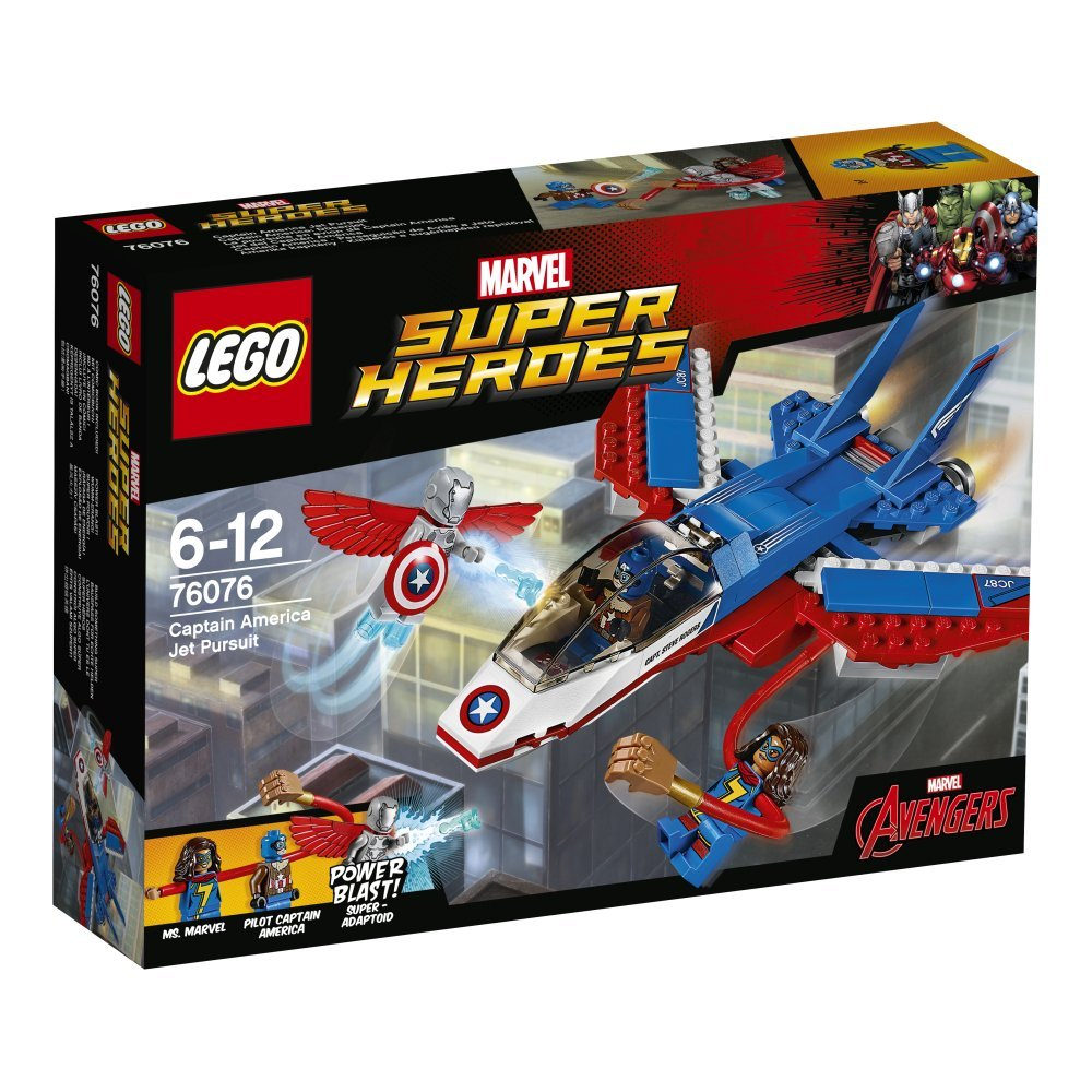 LEGO Marvel Super Heroes Captain America Jet Pursuit 76076 | © LEGO Group