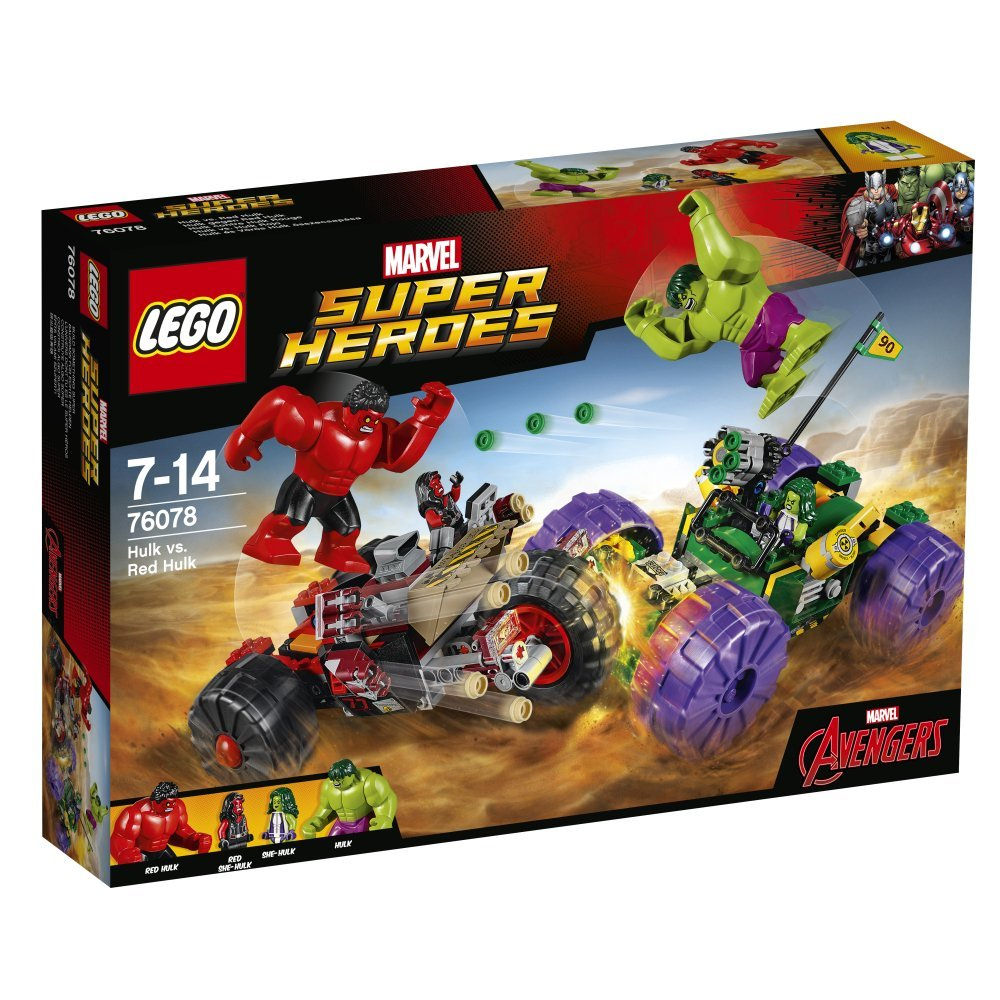 LEGO Marvel Super Heroes Hulk vs. Red Hulk 76078 | © LEGO Group