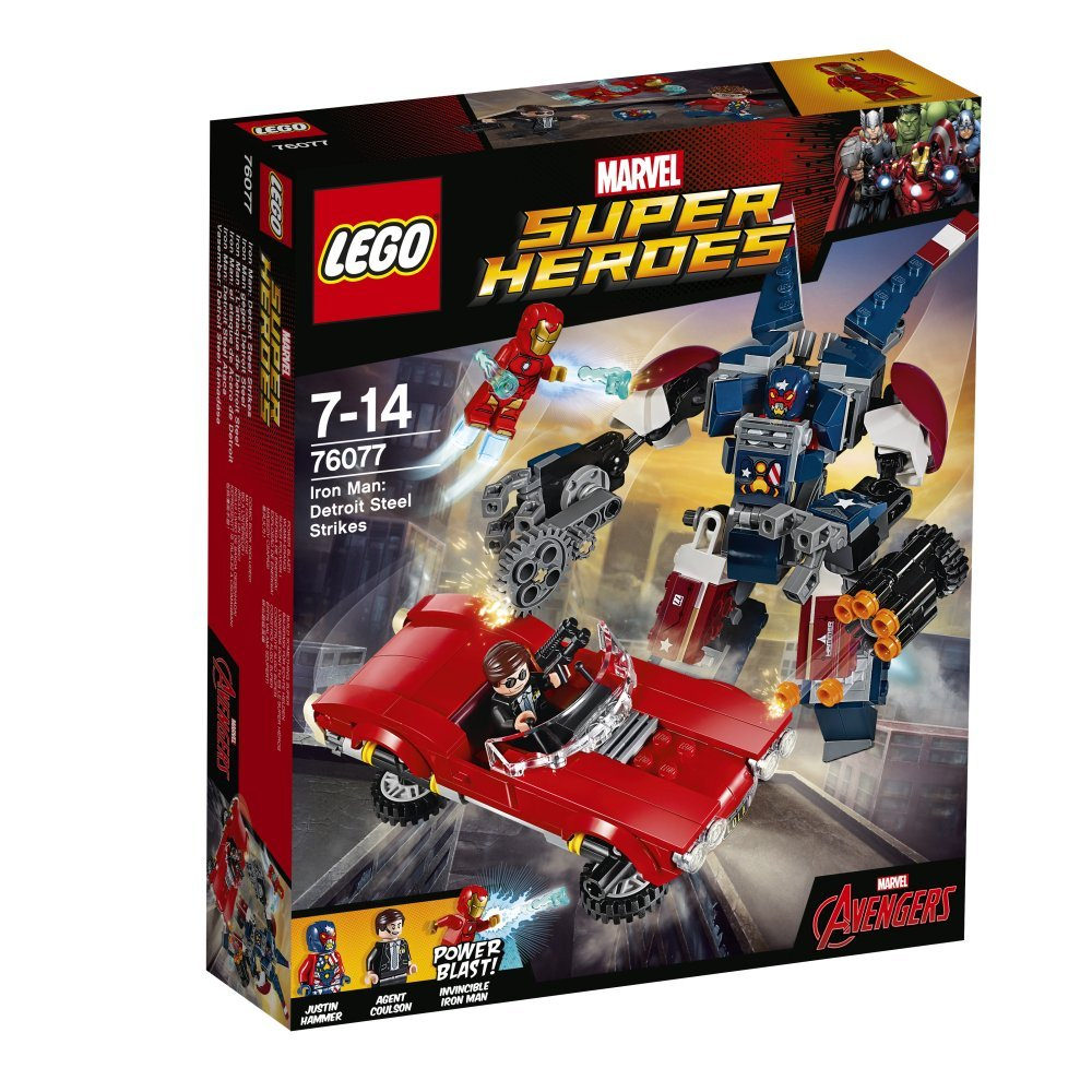LEGO Marvel Super Heroes Iron Man: Detroit Steel Strikes 76077 | © LEGO Group
