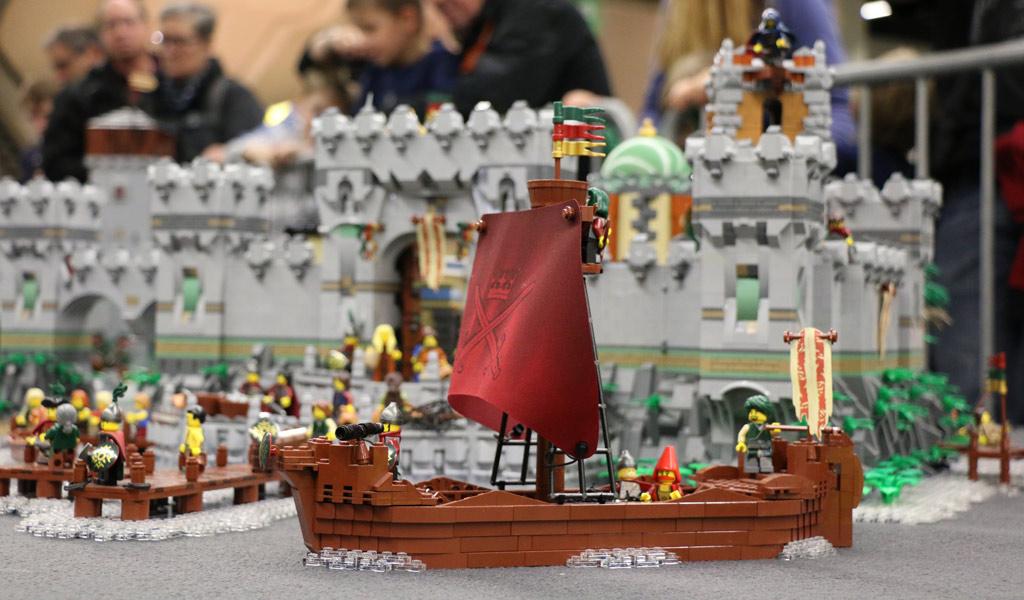 LEGO MOC: Aarbor Cit located in Historica von Marco den Besten | © Michael Kopp / zusammengebaut.com