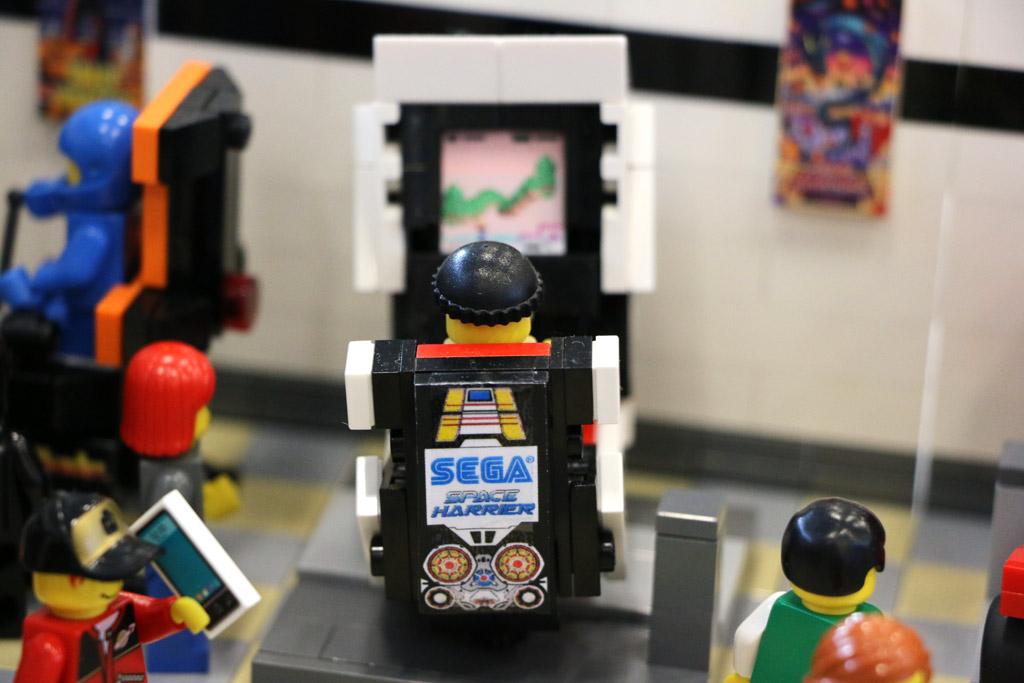 Sega darf nicht fehlen! | © Andres Lehmann / zusammengebaut.com