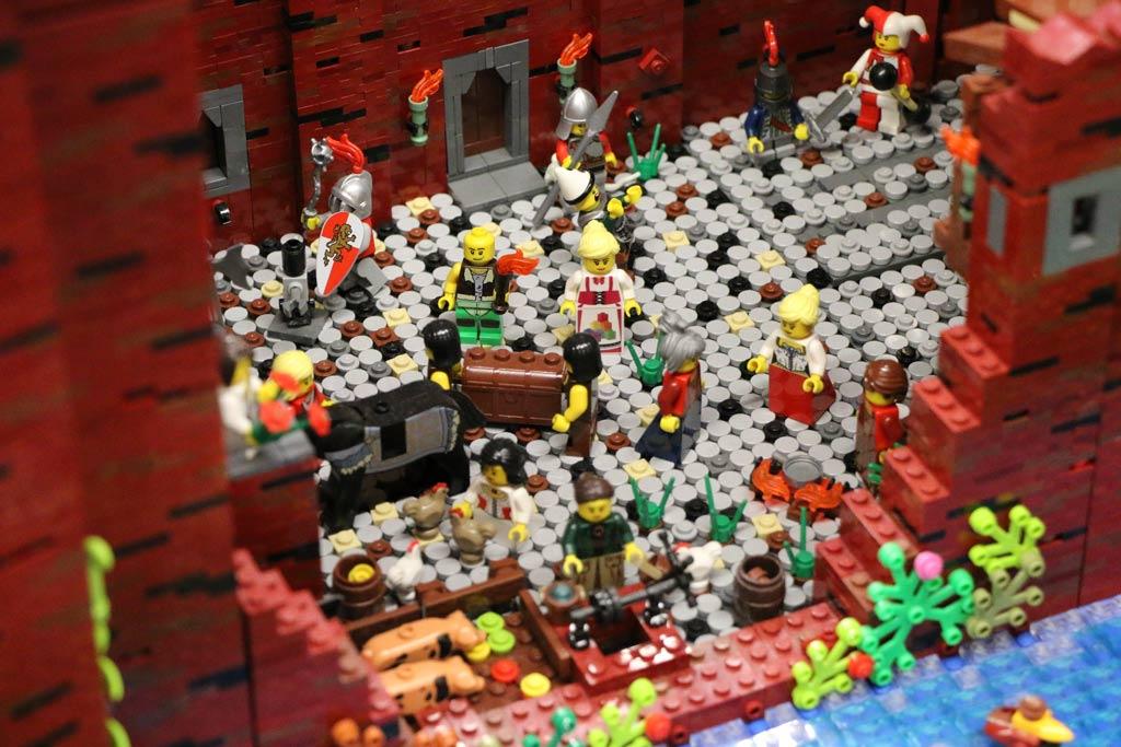 Burg Uda von Dirk Frantzen: Auch eine Bewohnerin aus Skaerbaek war zu Gast in Köln. | © Michael Kopp / zusammengebaut.com